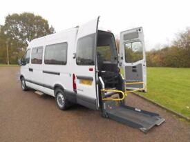2007 57 RENAULT MASTER 2.5DCI MWB WHEELCHAIR ACCESSIBLE DISABLED MINIBUS NO VAT