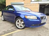 2008 58 VOLVO S40 1.8 SE 4D FULL LEATHER, ONLY 48,000 MILES