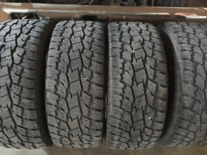 Toyo open country A/t ll 35's