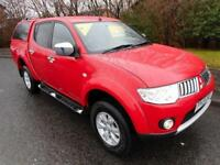 2013 Mitsubishi L200 Di-D 4X4 Trojan Pick-Up 2.5 Manual Diesel