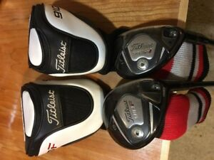 Titleist  910  -- 3 wood and 17* hybrid