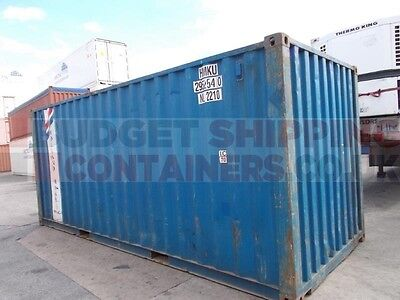 Standard Used 20ft Container