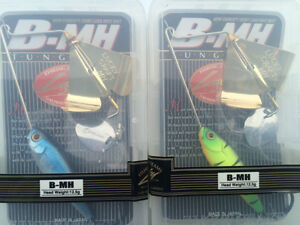 Fishing Lure Set - Lucky Craft B-MH Buzz Baits - New