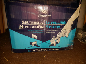 Peygran levelling clips and wedges