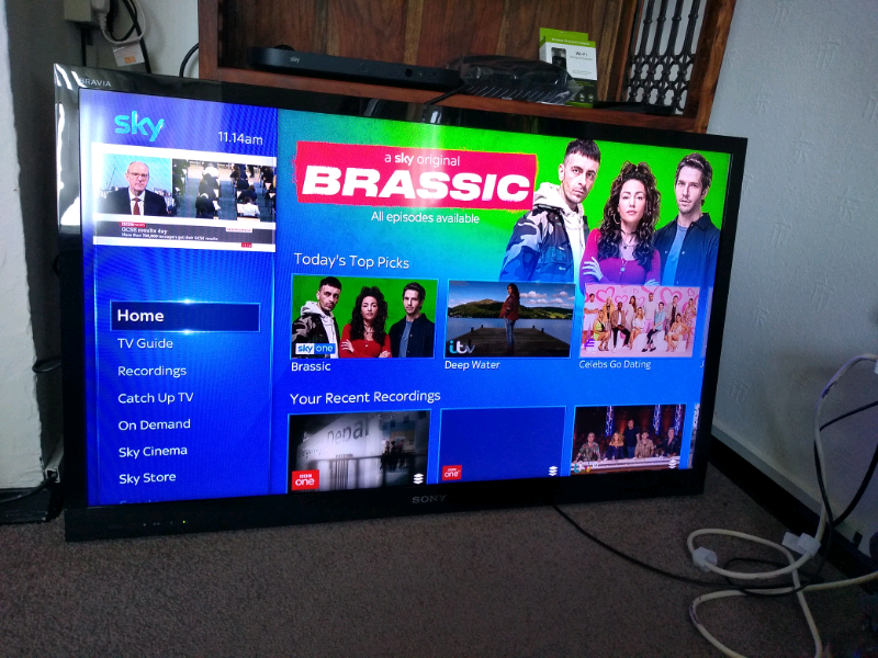 3D Sony Bravia LCD TV Television Very slim, 46inches | in Holt, Norfolk |  Gumtree