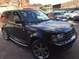 """L/R RANGE ROVER SPORT 2.7 DIESEL HSE AUTO,HPI CLEAR,SUNROOF,22"""" ALLOYS,1 OWNER,"""