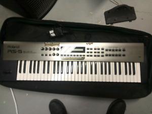 Roland keyboard.