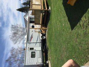 Offering on site travel trailer and rv repair/service