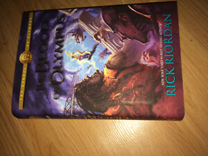 Rick riordan signed The Blood of Olympus, Percy Jackson