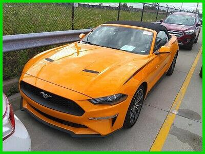 2019 Ford Mustang EcoBoost Premium 2019 Mustang Convertible EcoBoost Premium 13k miles $18800 below MSRP