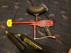 Piranha GTI paintball gun