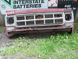 73-87 gmc chev grills and 87 olds rad sup t roof