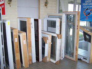CLEARANCE WINDOWS, STORM DOORS, LOUVRES, GLASS LITES