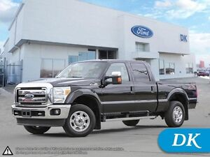 2014 Ford F-250 Super Duty Lariat Ultimate FX4 Chrome Pkg!