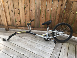 Supercycle Ride-A-Long Bike Trailer, 20-in