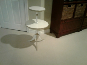 Antique table - 2  level  side table