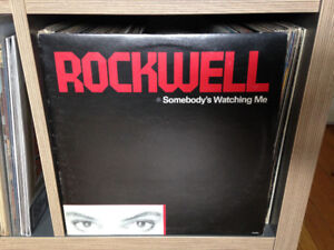 ROCKWELL Somebody's Watching Me VINYL LP