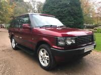 Land Rover Range Rover 2.5D 2498cc auto 2001MY HSE VERY RARE FIND