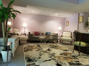 Spacious Walkout 2 bedrooms 2BR apartment, available immediate