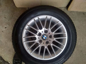 Brand New BMW Rim with Brand New Continental Conti Tire