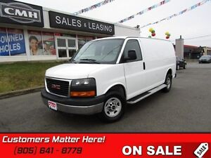 2015 GMC Savana Cargo Van   CAGE, RUNNING BOARDS, POWER GROUP!