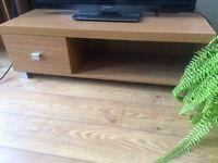 Tv unit oak effect