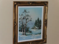 Excellent Painting with unique frame
