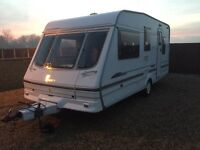 2000 5 berth Swift Alouette Classic with full awning