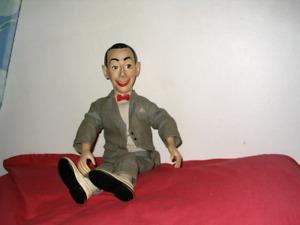 Retro Toy Pee Wee Herman Doll $40