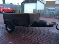 Car or van trailer, excellent condition well maintained with spare wheel