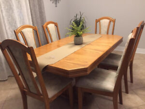 6 Chair Dining Table Set & Sideboard
