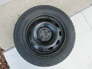 WINTER TIRES ON RIMS 195x60x15 set of 4
