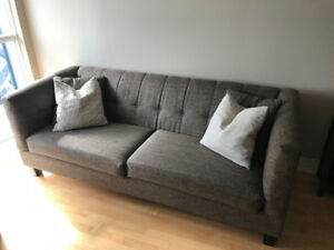 Couch for sale - ONLY 2 years old - from HUDSON'S BAY!