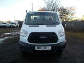 Ford Transit 2.2 Tdci One stop tipper 125Ps DIESEL MANUAL WHITE (2015)