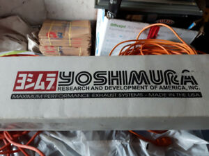 Yoshimura Slip on Pipe for Suzuki 750