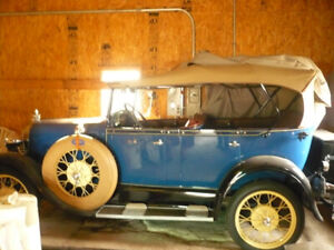 ford 1929 touring de luxe
