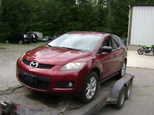 !!  ALL PARTS AVAILABLE  2007 MAZDA CX-7  2.3L TURBO  !!