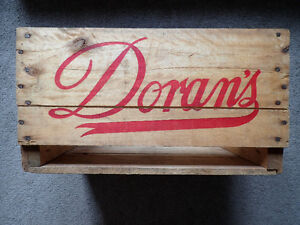 1960s Doran's Northern Brewery Beer Crate