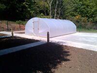 Polytunnels ( pollytunnel green house )