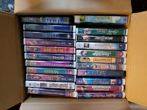 Disney mint shaped VCR.  All movies and cases in mint condition