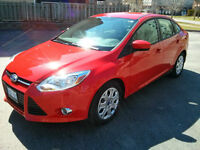 2012 Ford Focus SE Sedan - Low Milage