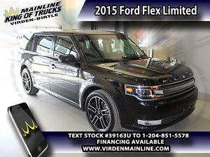 2015 Ford Flex Limited  - Leather Seats -  Bluetooth - $248.45 B