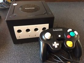 Black complete gamecube