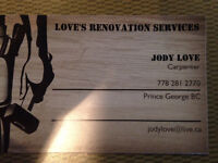 Loves renovation services