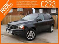 2010 Volvo XC90 2.4 D5 Turbo Diesel 185 BHP SE Geartronic 6 Speed Auto AWD 4x4 4