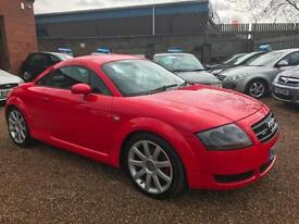 2003 Audi TT Coupe 1.8 T ( 225bhp ) quattro, Red, **ANY PX WELCOME**
