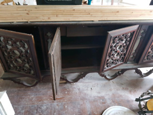 Late 70 early 80's display cabinet need some TLC