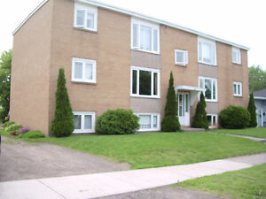2 bedroom apt, heat & hot water included - near Moncton Hosp.