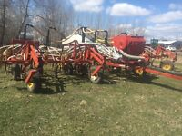 32 ft bourgault airseeders with valmar
