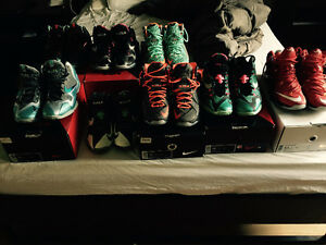Lebron 11 & 12 Shoe Collection 8 pairs